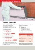 Wärmedämmung von Baustoffen - Austrotherm Dämmstoffe - Seite 4