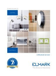 Elmark Catalogue 2021-Electric