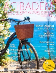 Acıbadem Dergisi Sayı 70