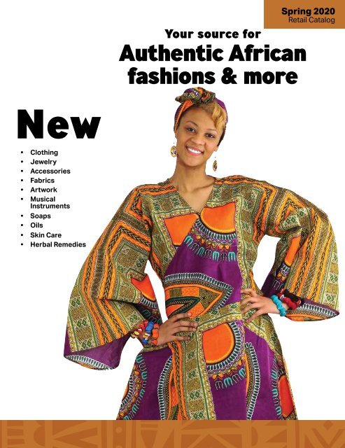 2020 Shades of Africa Catalog