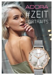 ADORA ZEIT Portraits Frühjahr/Sommer 2020