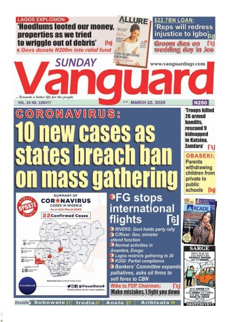 22032020 - CORONAVIRUS - 10 new cases as states breach ban mass gathering