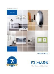 Elmark Catalogue 2020-Lighting