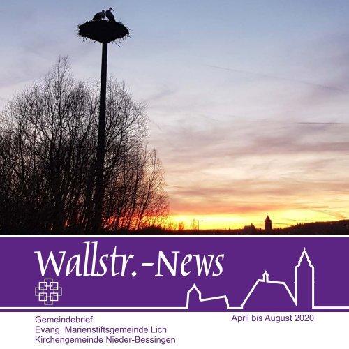 Wallstr. News 2020 2
