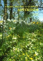 Watchet, Williton and Quantock Advertiser, April 2020
