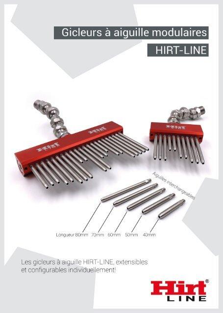 Hirt-Line Gicleurs à aiguille modulaires
