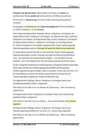 SARS-CoV-2 - Gesetzespaket 2 - Abstimmungsverhalten im Parlament