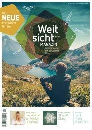 Weitsicht-Magazin No. 1 / Frühling 2019