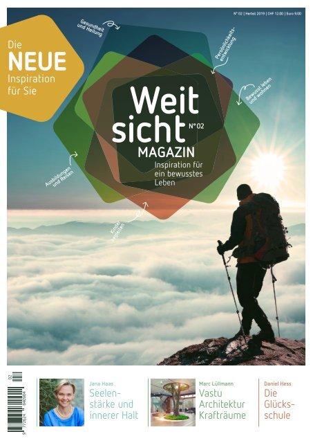 Weitsicht-Magazin Ausgabe No. 2 / Herbst 2019