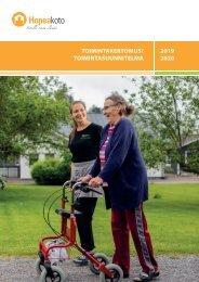 Hopeakoto toimintakertomus ja suunnitelma 2019-2020