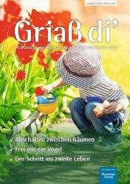 Griaß di' Magazin Frühjahr/Sommer 2020