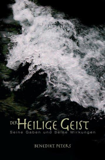 Benedikt Peters: Der Heilige Geist