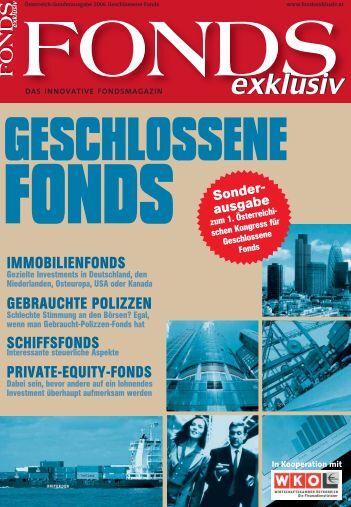 schiffsfonds: krise noch nicht überwunden