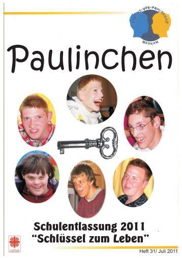 Heft 31 - Juli 2011 - vinzenz-von-paul-schule