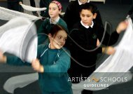 Artists~schools guidelines: towards best practice in ... - Arts Council