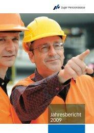 Jahresbericht 2009 - Zuger Pensionskasse