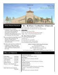 Nov. 4, 2012 - St. Kilian Catholic Church