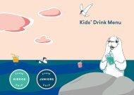Kids' drinks menu