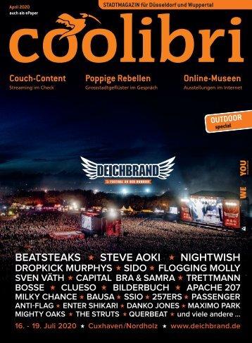 April 2020 - coolibri Düsseldorf, Wuppertal