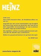 04_2020 HEINZ Magazin Wuppertal, Solingen, Remscheid - Page 2