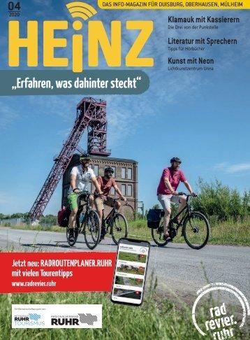 04_2020 HEINZ Magazin Duisburg, Oberhausen, Mülheim