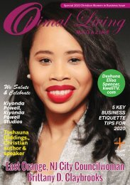 2020 Optimal Living Magazine Christian Women in Business Issue