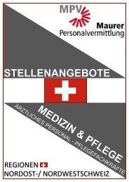 Web-Stellenangebote-MPV Medizin-Pflege CH