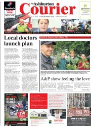 Ashburton Courier: March 19, 2020