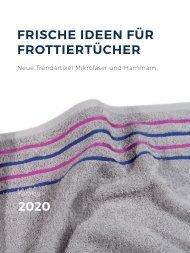 Frische Ideen für Frottiertücher 2020