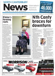 North Canterbury News: March 19, 2020