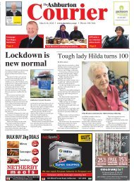 Ashburton Courier: March 26, 2020