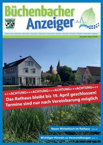 April 2020 - Büchenbacher Anzeiger