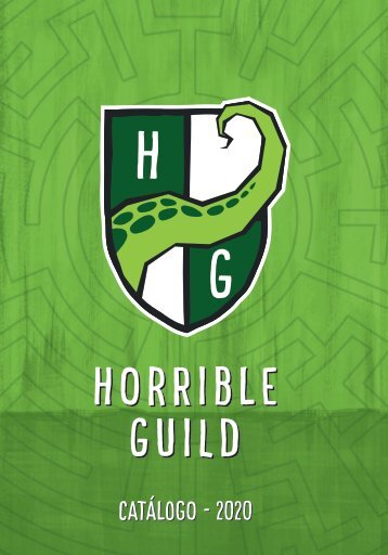 Catálogo Horrible Guild 2020
