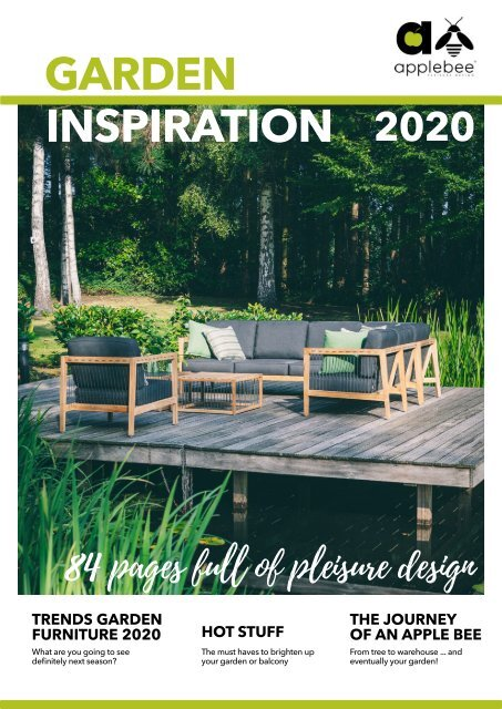 Apple Bee Gartenmöbel Katalog 2020
