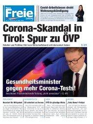 Corona-Skandal in Tirol: Spur zu ÖVP