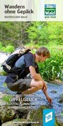 Wandern ohne Gepäck im Bayerischen Wald