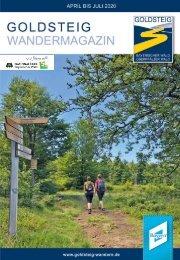 Goldsteig Magazin Frühjahr 2020