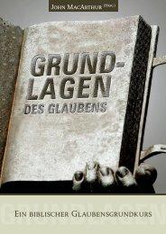 GRUNDLAGENDESGLAUBENS-Auszug