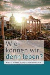 Schaeffer: Wie können wir denn leben?