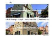 Erschliessungskonzept und aktueller Bestand | Rathausstraße Gunzenhausen