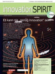 april 2008 - innovationspirit