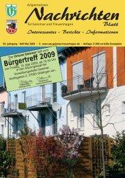 Blatt Interessantes - Berichte - Informationen - Werbegemeinschaft ...
