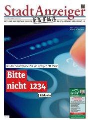Stadtanzeiger Extra kw 13