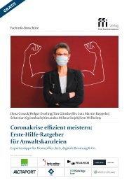 Coronakrise effizient meistern: Erste-Hilfe-Ratgeber für Anwaltskanzleien