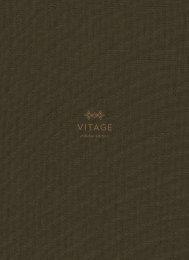 Vitage Milldue Edition - Catálogo - 2019 - General
