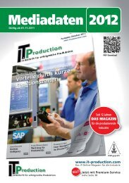 Mediadaten 2012 - IT & Produktion