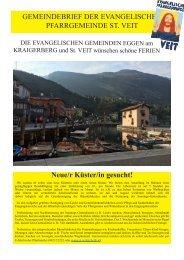 Evangelische Kirchenzeitung_Juli 2019