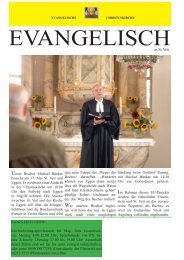 Evangelische Kirchenzeitung-2014 Fruehjahr