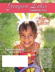 Grayson Lakes April 2020