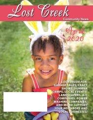 Lost Creek April 2020